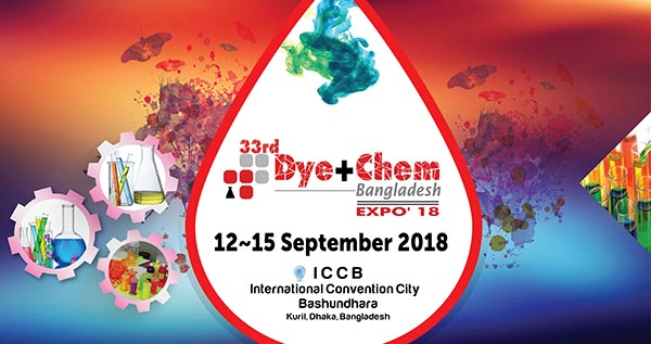 33rd Dye+Chem Bangladesh 2018 International Expo