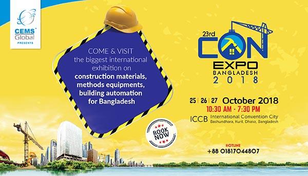 23rd CONEXPO Bangladesh 2018 International Expo